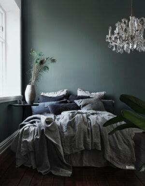Lovely Linen Bettbezug Chambray