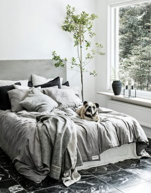Bettbezug Misty Lovely Linen und Hund