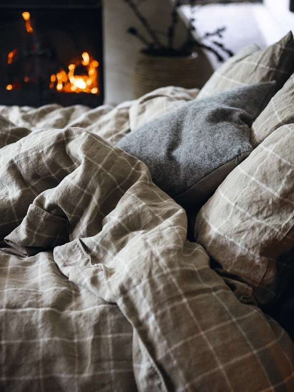 Winterbettwäsche Check in Spitzenqualität: jetzt online bei lovely linen