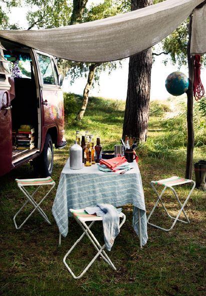 Tischdeko mit Sommertischdecken