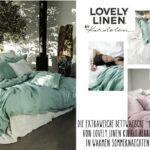 Gesunde Bettwäsche Misty von Lovely Linen