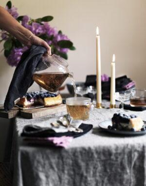 Leinentischdecke und Geschirrtuch CHAMBRAY Lovely Linen