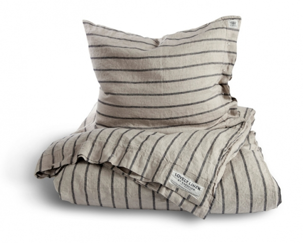 Lovely Linen Stripe Bettwäsche für Frauen & Männer