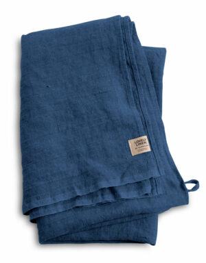 Hamam Leinen Badetuch Lovely Linen denim blue