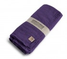 Leinenserviette LOVELY-aubergine-Lovely-Linen in 45 x 45 cm