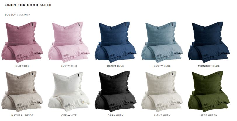 Bettwaesche Kollektion von Lovely Linen